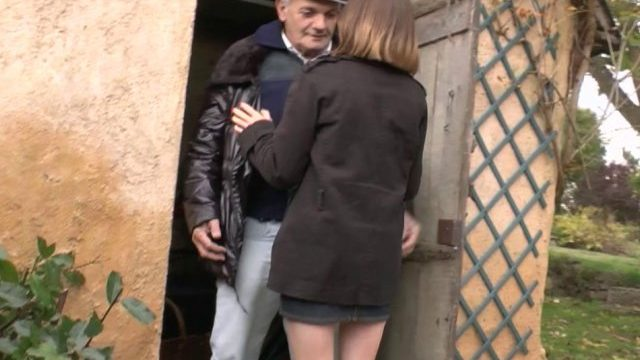 Papy veut son trip porno bien français