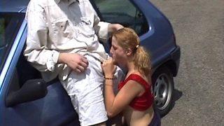 Porno bien français sur départementale