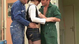 Couple coquin amateur baise avec un jeune débutant