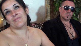 Sexe français d'un casting porno pour femme cochonne